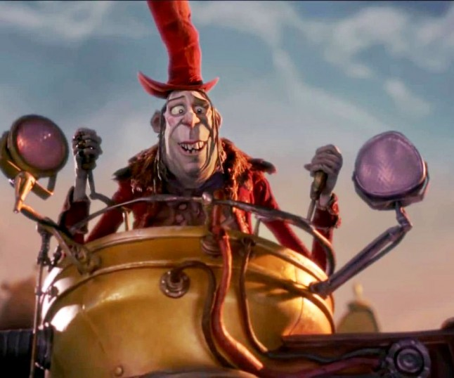 Sir Ben Kingsley on Laika, THE BOXTROLLS and More