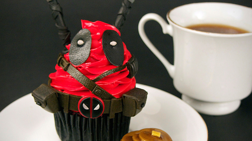 Deadpool Cupcakes You'd Do Anything For
