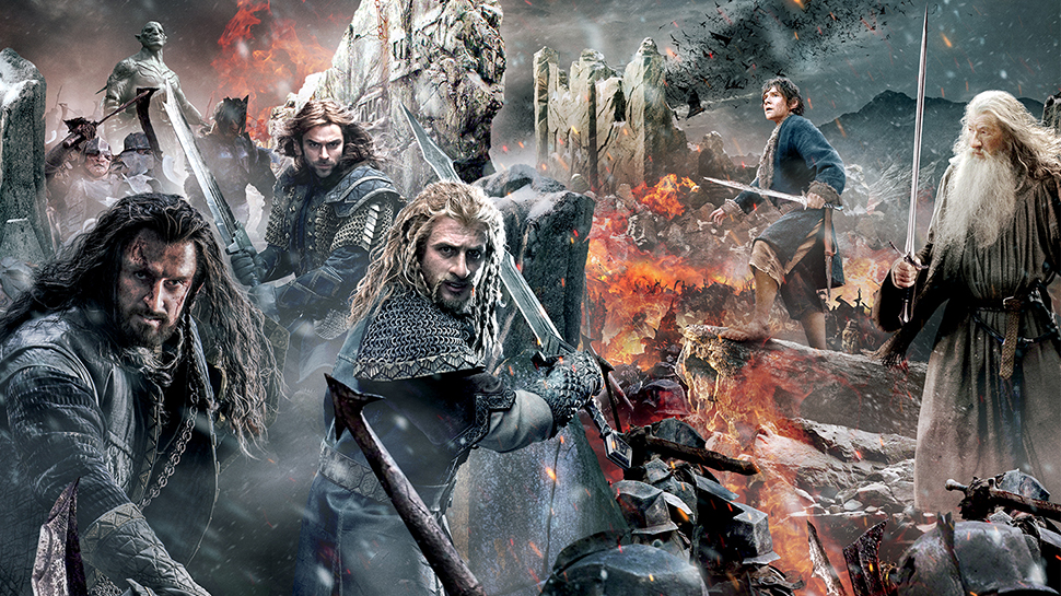 THE HOBBIT: THE BATTLE OF THE FIVE ARMIES Gets an Epic ...