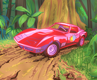 Car Tunes and Cartoons: Astro Nautico Share Exclusive Mix and Illustration