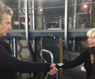 Katy Manning's Visit to the DOCTOR WHO Set is the Cutest Thing in All of Time and Space