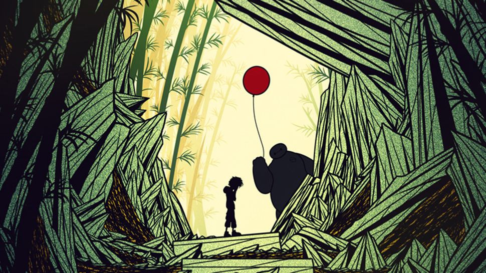Beautiful BIG HERO 6 Posters from The Poster Posse