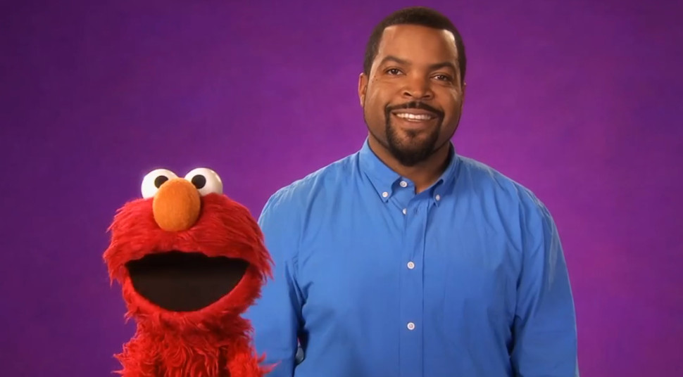 Watch Rapper Ice Cube Blow Elmo's Mind in This Astounding SESAME STREET Video