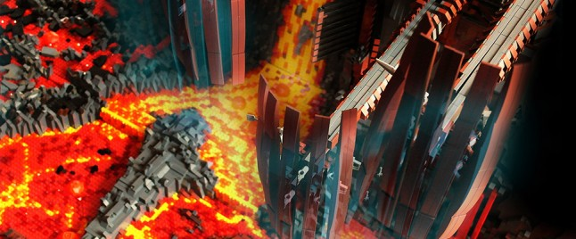 This LEGO Diorama of Mustafar Is Blazing Hot