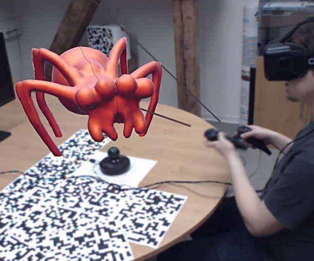 Watch an Artist Sculpt (a Spider) in the Oculus Rift