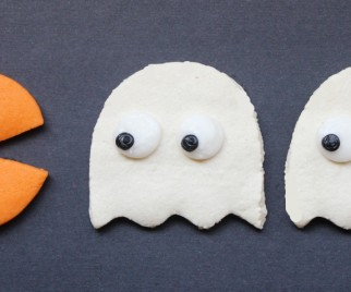 Get the Ghosts with These Pac-Man Halloween Cookies