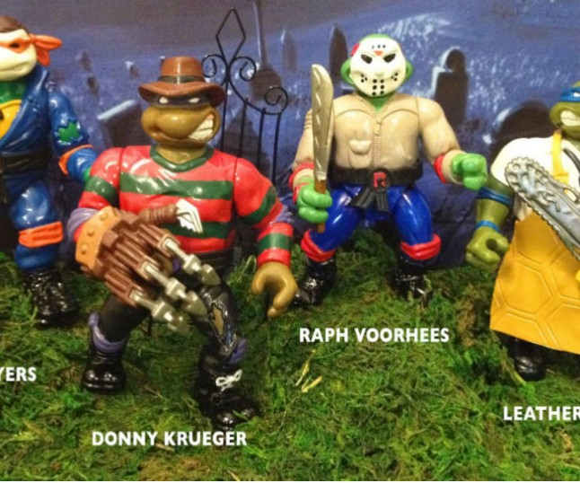 Teenage Mutant Ninja Slashers!