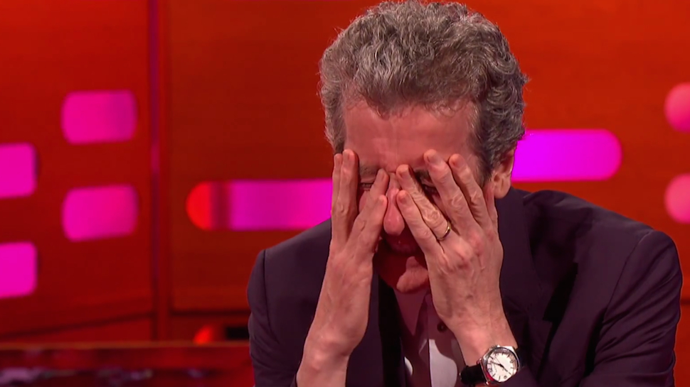 Aww, Peter Capaldi's So Embarrassed About His DOCTOR WHO Fanboy Past