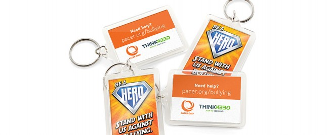 Help Stop Bullying and Get a Sweet New Keychain at the Same Time