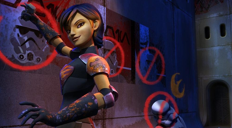 Exclusive: Actress Tiya Sircar on her STAR WARS REBELS Character Sabine Wren