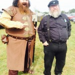 Robert Baratheon and George R.R. Martin (Game of Thrones) | Source: http://bit.ly/1uqMvcJ