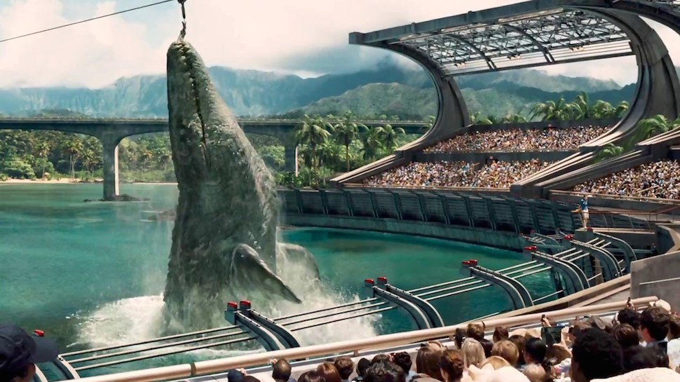 The Best Dinosaur in the JURASSIC WORLD Trailer Isn't Actually a Dinosaur