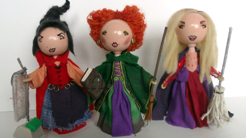 Handmade ADVENTURE TIME, GAME OF THRONES, and DOCTOR WHO Inspired Peg Dolls Make Perfect Holiday Gifts
