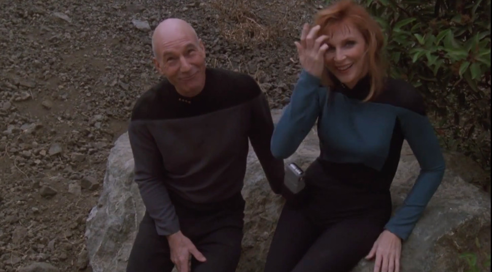 Watch the Crew of the Enterprise-D Get Wacky in These STAR TREK: THE NEXT GENERATION Bloopers