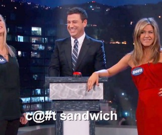 IRL FRIENDS Jennifer Aniston and Lisa Kudrow Reunite for Curse Off on JIMMY KIMMEL LIVE