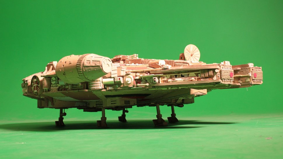 This Cardboard Millennium Falcon Isn't a Hunk of Junk