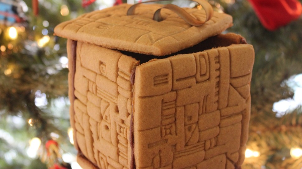 You Will Be Decorated… with This Gingerbread Borg Cube