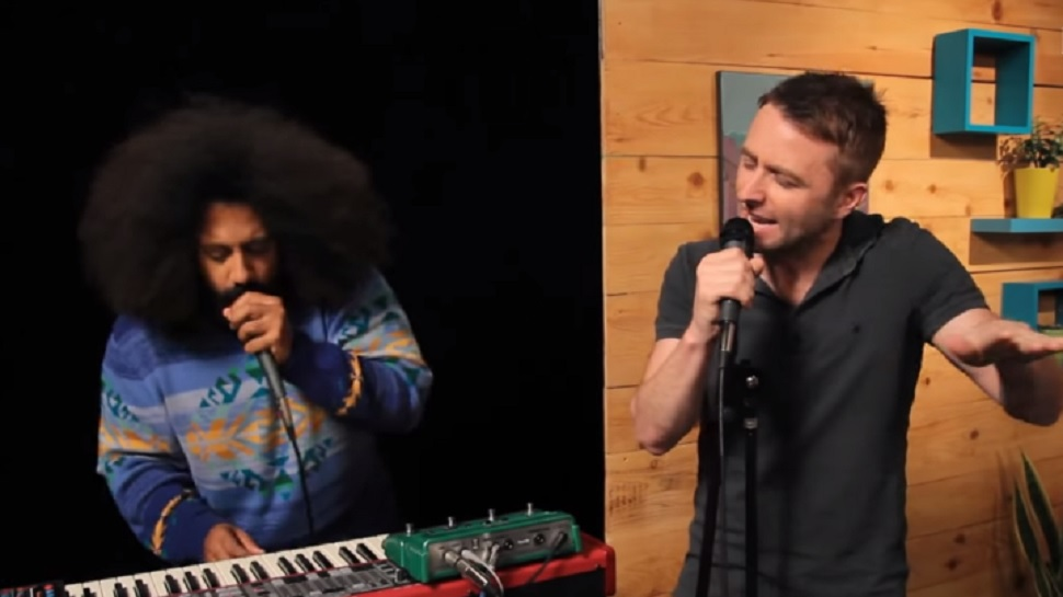 Chris Hardwick Sings a Ballad of a Lonely Pony with Reggie Watts