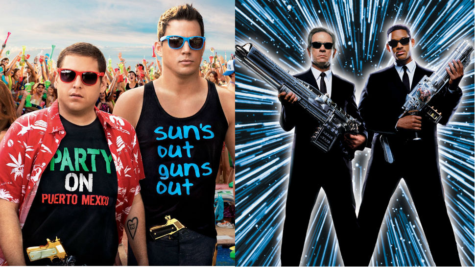 MEN IN BLACK/21 JUMP STREET Crossover Gets a (Very Obvious) Title