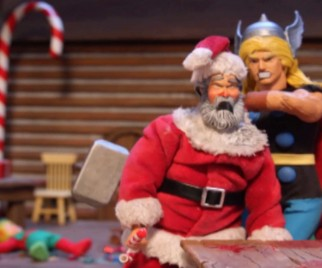 ROBOT CHICKEN's 12 Slays of Christmas – Day 10: Thor vs. Santa Claus