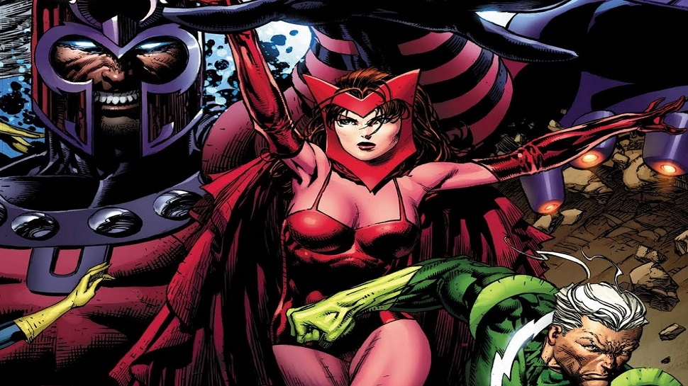 Comics Relief: Scarlet Witch & Quicksilver, Mutants No More?