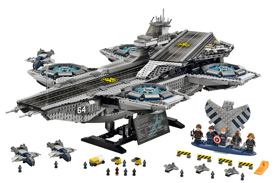 LEGO Is About to Unleash the S.H.I.E.L.D. HELICARRIER