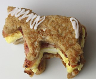 Say Farewell to PARKS AND RECREATION with a Li'l Sebastian Breakfast Stack