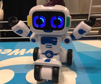 Toy Fair + Robots = Love