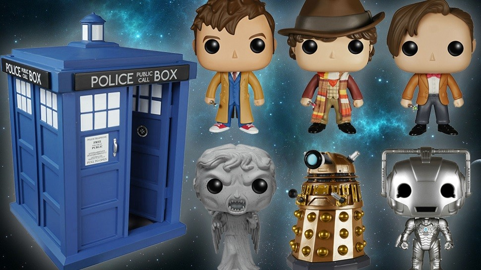 Updated – DOCTOR WHO Pop! Vinyls Are Heading Into Time and Space
