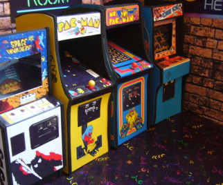 Build the Arcade of Your Dreams with These Miniature Models