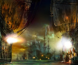 Preview Shanghai Disneyland's PIRATES OF THE CARIBBEAN: BATTLE FOR THE SUNKEN TREASURE Ride