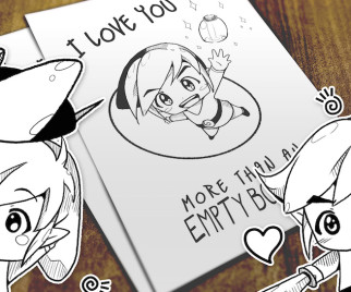 Refill Your Heart Container With These Hand-Drawn ZELDA Valentines!