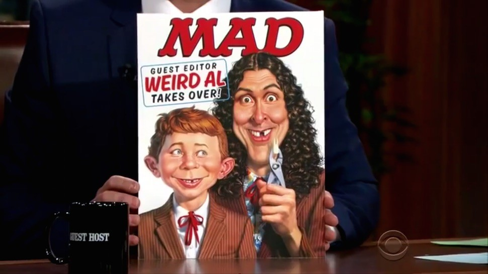 Music Dispatch: 'Weird Al' Reveals MAD Magazine Cover & Covers Woody Guthrie