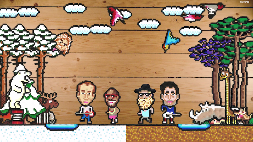 Music Geek Track of the Day: The Very Best's Video For 'Let Go' Is A DIY 8-Bit Paradise