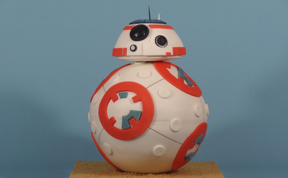 Exclusive How Cake Rush Bakery Created The Star Wars Bb 8