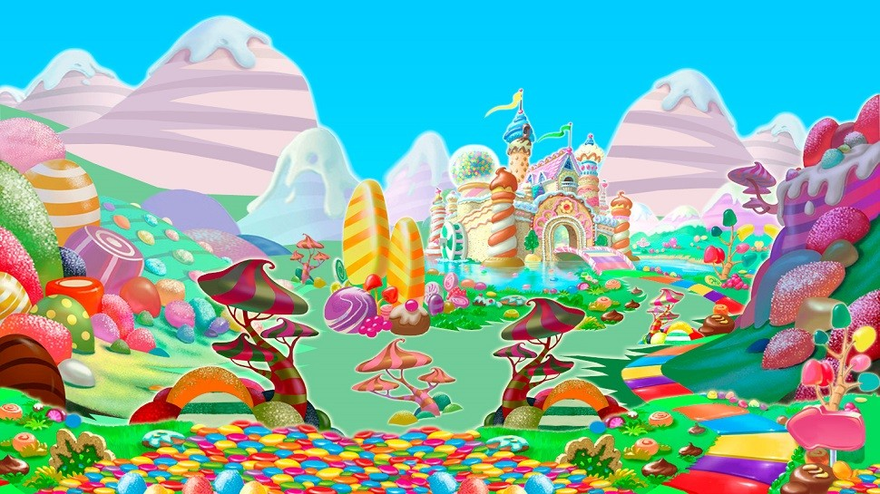 Artist Brings CANDYLAND To Life In The Form Of Giant Floor Installations