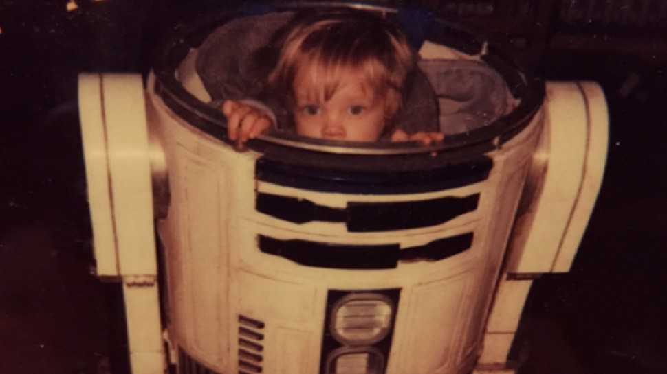 Mark Hamill Shares Family Photos from the Set of RETURN OF THE JEDI