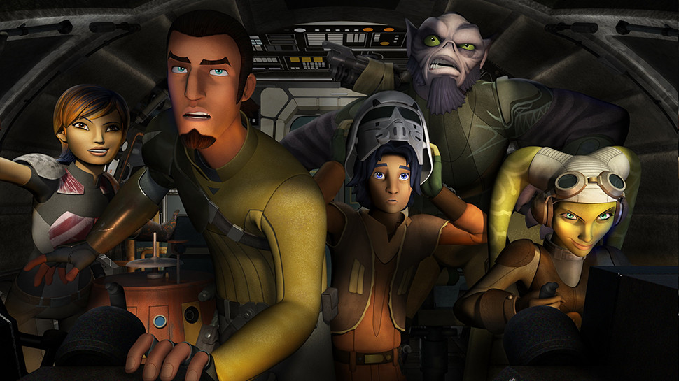 Characters from STAR WARS REBELS Could Be in Live-Action STAR WARS Films