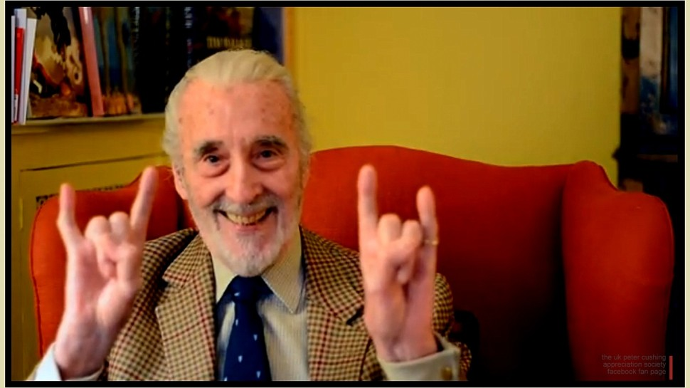 Screen Legend Christopher Lee Passes Away, Age 93