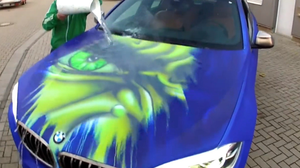 Water Changing Car Paint