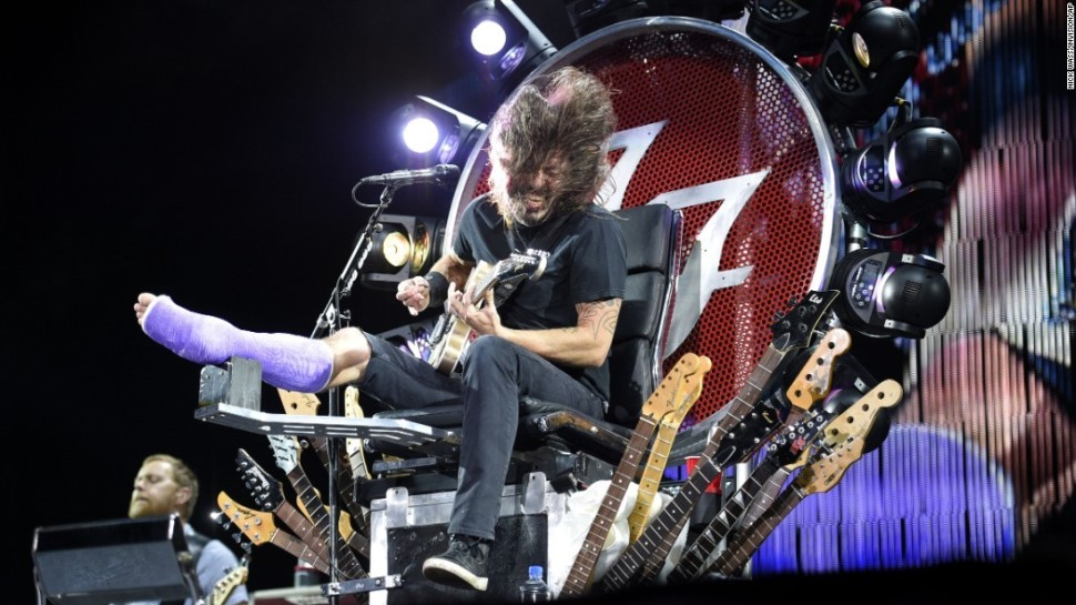 Even Dave Grohl's Doctor is a Rock God, Covers The White Stripes' 'Seven Nation Army'