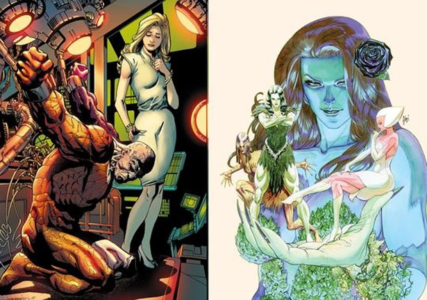 Metamorpho and Poison Ivy