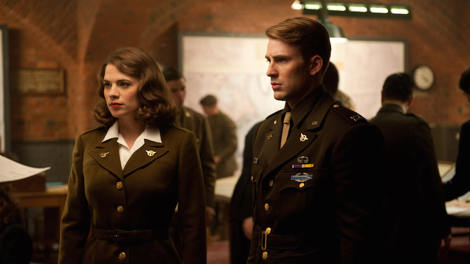 HAYLEY ATWELL Drops the Mic With a Little Help from CAPTAIN AMERICA