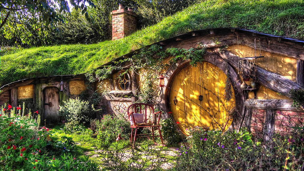 Yes Please We Want to Camp Like a Hobbit!