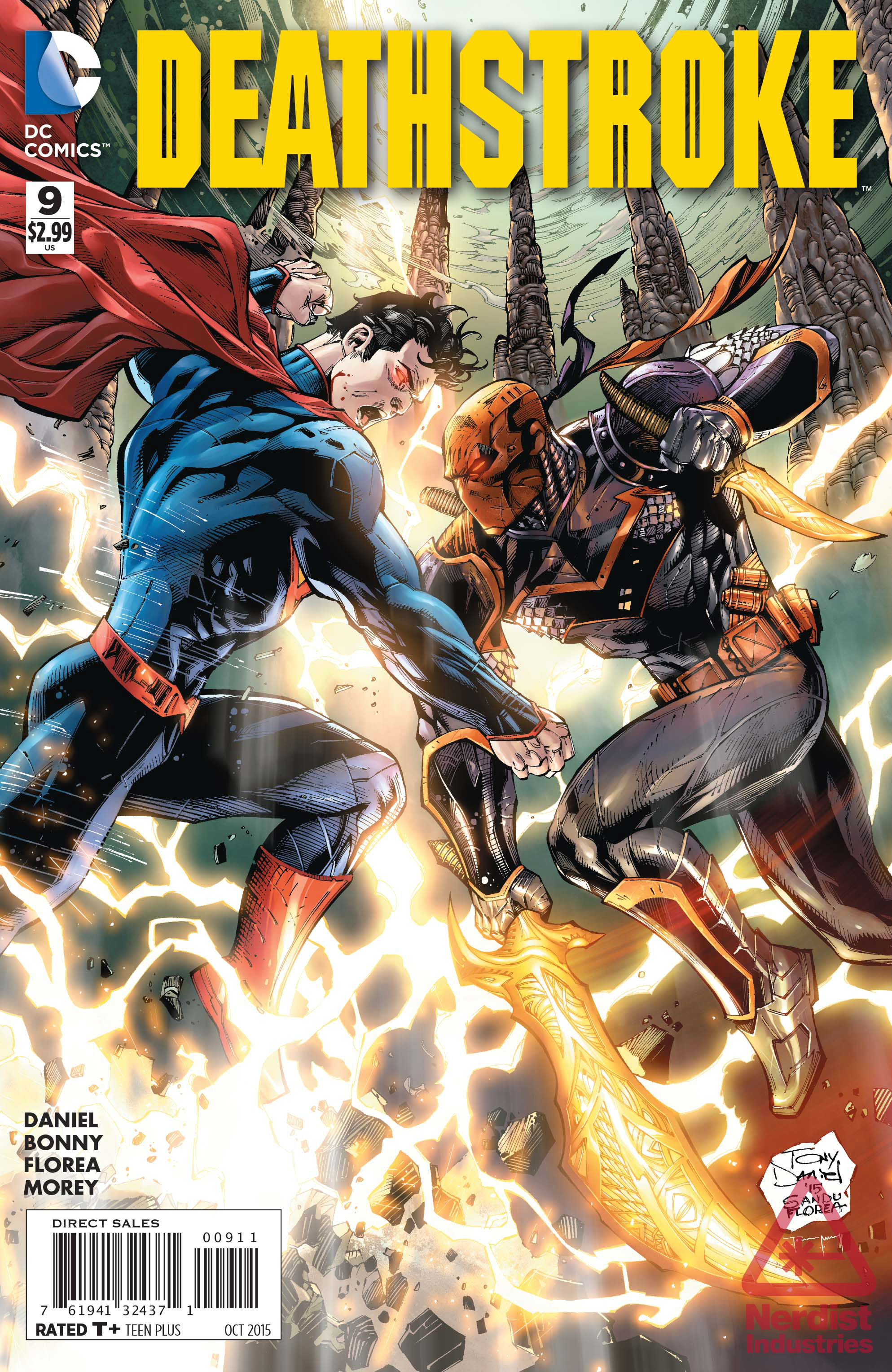 preview deathstroke 9 is packed with death destruction and