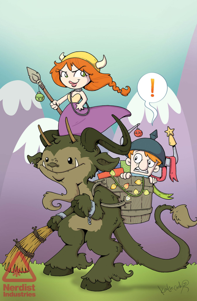 Munchkin Deck Dungeons - Cook Cover