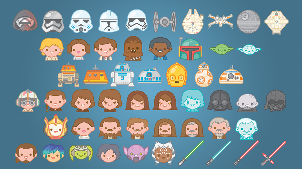Express Your Feelings with New STAR WARS Emojis