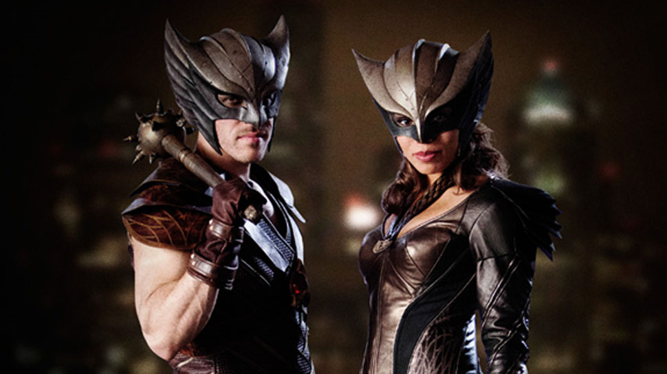 DC'S LEGENDS OF TOMORROW Gives Us Hawkman and Hawkgirl