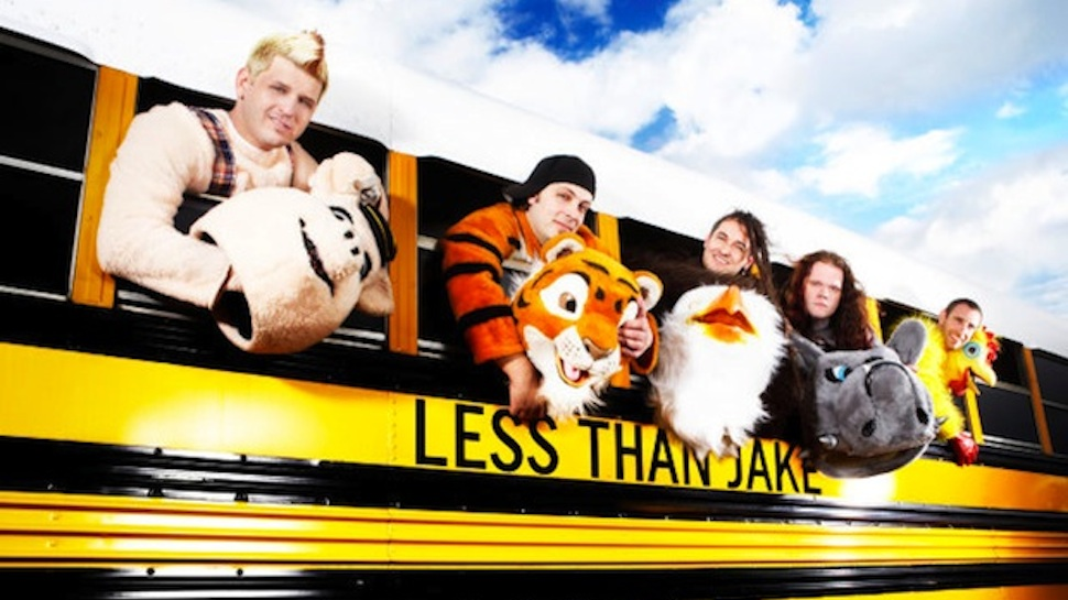 Less Than Jake Made a Compilation Album with MC Lars for Their Wake & Bake Weekend