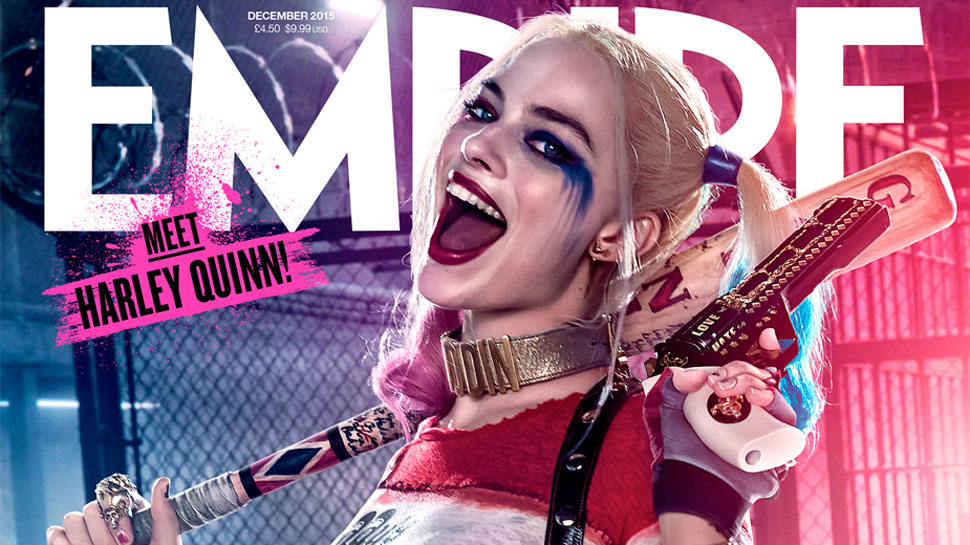 Empire Magazine Reveals New SUICIDE SQUAD Harley Quinn and Deadshot Covers